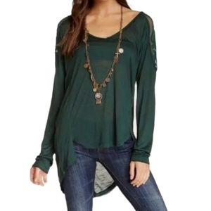 Free People   Gatsby Embroidered Tee